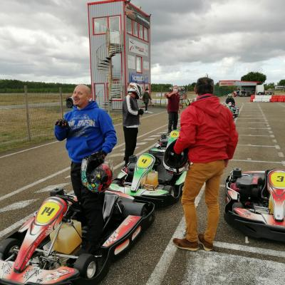 Journée karting du 27 septembre 2020